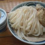[讃岐うどん]麦蔵は宮崎地鶏のかしわざるがサイコーです