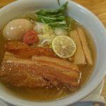 らーめん工房りょう花 高松東店|定番の贅沢のせ塩らー麺