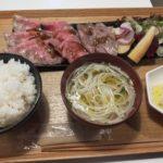 セトノウチ 島メシ家|オリーブ牛ローストビーフ3種食べ比べ定食
